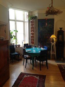 Photo for Beautiful furnished apartment near the Lakes in a quiet side street Østerbrogade