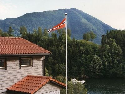 Photo for Cozy apartment on the fjord for 2 persons
