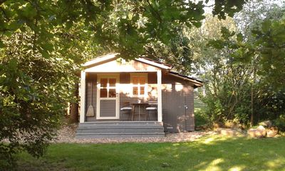 Photo for Ferienhausanlage Hilkenberg - small wooden hut for 1-2 persons - the beach house