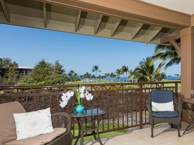 Photo for Incredible ocean view, Hali'i Kai, sleeps 6, private club, beaches near