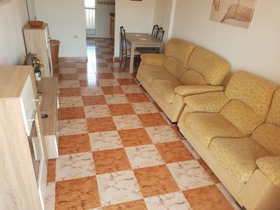 Photo for 2 bedroom ground floor apartment, Cabo Roig