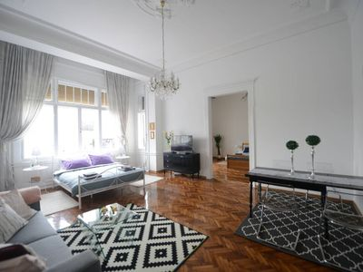 Photo for Apartment in city center with a beautiful view of the Serbian National Theater