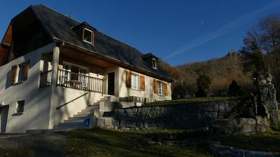 Photo for Property in the heart of the village with breathtaking views of the valley of Argelès