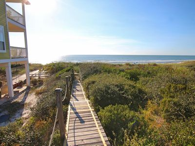 Photo for North Cape Home with Private Beach Access - Logger Head Walk/Bike Path Closeby!