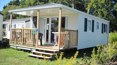 Photo for Camping Les Genets **** - Mobile home 3 Rooms 4 People