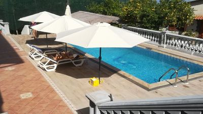 Photo for Casa Mafra (A) nice apartment with shared pool in Schiazzano of Massa Lubrense