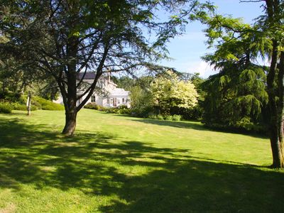 Photo for Peaceful 6 Bed Country Cottage with Stunning Gardens, Trout Lake & Tennis Court