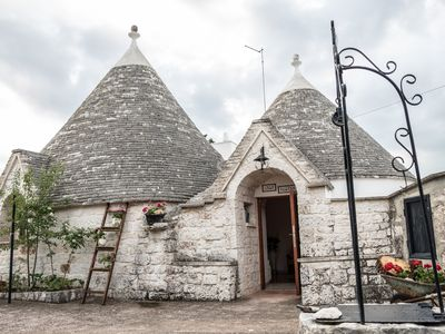 Photo for TRULLI IN THE HILLS OF MONOPOLI