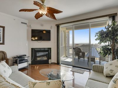 Photo for Great Views of Bay, Inlet & Assateague Island! - Boardwalk Condo w/ Pool, Sleeps 6!