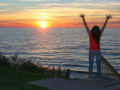 Photo for The Lake Michigan House ~ Perfect Sunsets Over Lake Michigan!