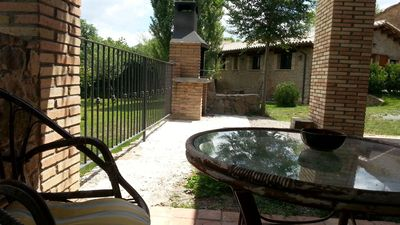 Photo for 4 bedroom Villa, sleeps 8 in Sant Genís with Pool and WiFi