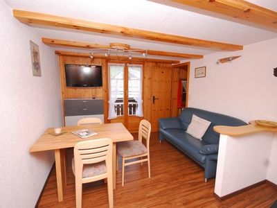 Photo for Apartment Chalet Alpenruh in Saas-Fee - 3 persons, 2 bedrooms