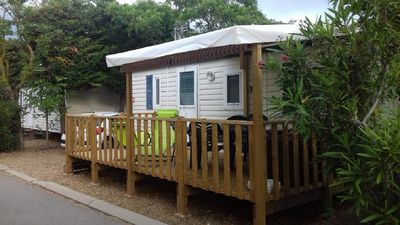 Photo for MOBIL-HOME 6 PERS. CAMPING 4 * CLIMATISE - 3 BEDROOMS