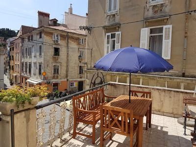 Photo for Piran Family Apartment - Renovated 2018 - Old Town, Near Sea