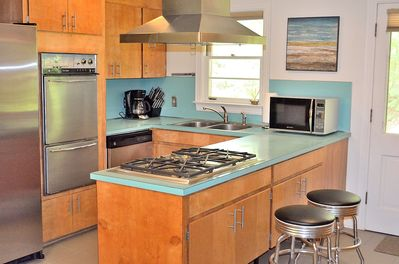 Vintage Retro Kitchen with High End Appliances