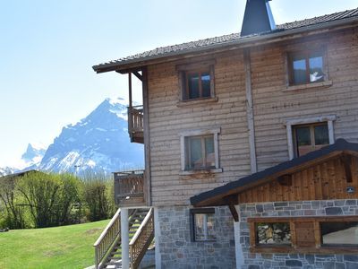 """Photo for Savoyard chalet """"Les heures claires"""" 8 people"""