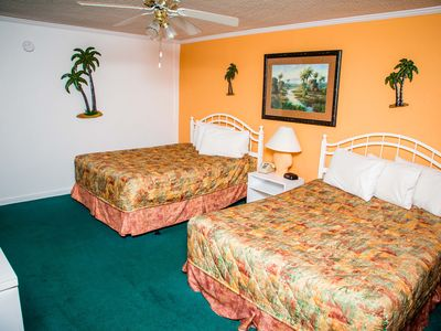 Photo for 1 Bedroom Resort Suite, sleeps 6, just steps from the beach