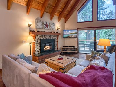 Photo for 3BR House at Tahoe Donner w/ Deck Overlooking Golf Course