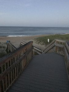 Photo for Your beautiful 2 bedroom condo steps away from the ocean awaits!