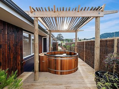 Photo for The Purple House - Ohakune Holiday Home with Spa Pool