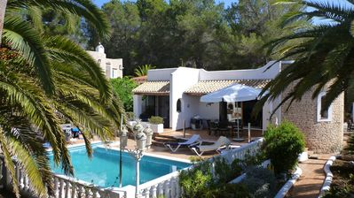 Photo for exclusive villa with private pool, in the north east of Ibiza, 500m from the beach