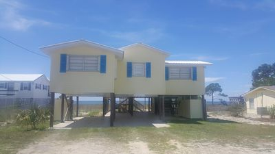 Photo for NEW LISTING -  BEACHFRONT  No Hurricane Damage!  1 Acre on White Sand Beach!