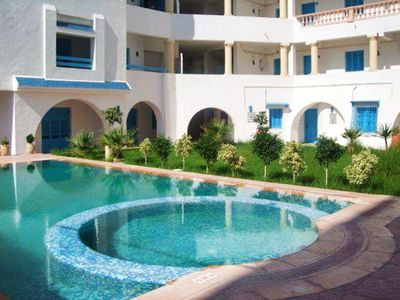 Homerez last minute deal - Nice apt with pool access and terrace