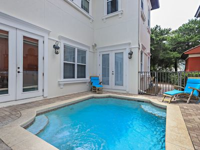 Photo for FLASH SALE on Summer Weeks in May and June ~ Steps to beach with private pool