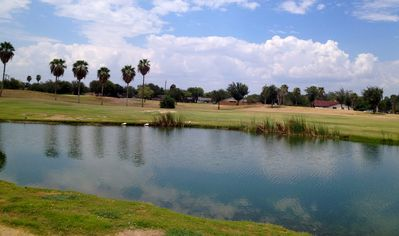 Rear view to hole # 8
