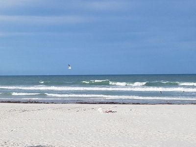 Photo for Steps to the ocean 3 /2 beach  side house walk to restaurants, shops and beach