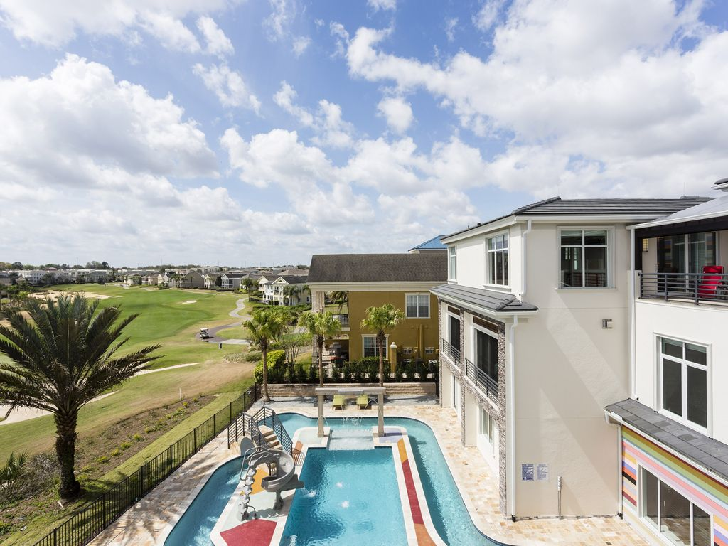 14 Bedroom Luxe Mansion With Lazy River Vrbo