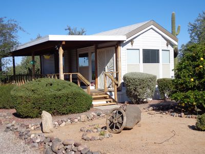 Photo for Private guest house adjacent to Saguaro National Monument close to hiking