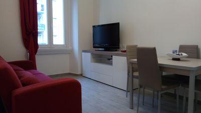 Photo for Two-room apartment renovated 400 meters from red metro