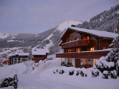 Photo for Self catered, luxury chalet in the centre of Châtel & a lovely summer retreat.