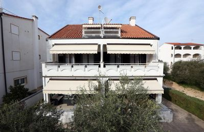 Photo for One bedroom apartment with balcony and sea view Vodice