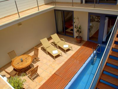 Photo for big bungalow with own pool, few minutes to the sea