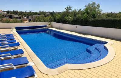 10m x 5m private, heated swimming pool