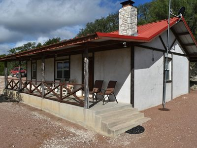 Photo for Maner Lodge private getaway with amazing hill country views