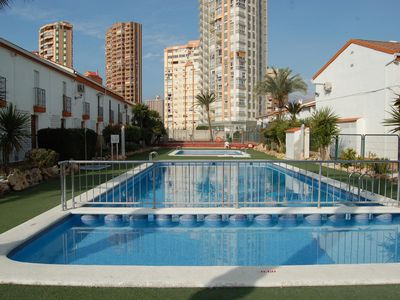 Photo for Alquiler turistico Benidorm cerca playa Levante Rinconada Real 116