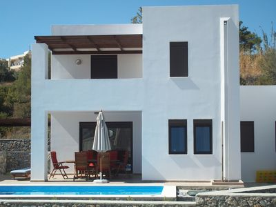 Photo for Modern 3 Bed Villa with Private Pool, Garden and Roof Terrace