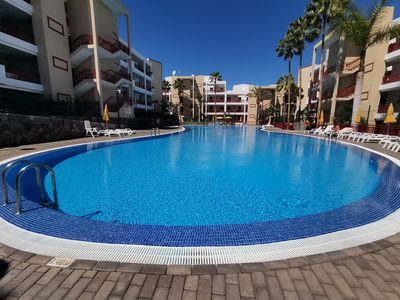 Photo for Beautiful apartment in the Palm-Mar, surrounded by swimming pools and very close to the sea.