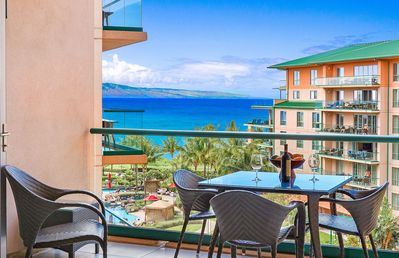Photo for Maui Resort Rentals: Honua Kai Konea 615 - 6th Floor Studio w/ Full Ocean Views!
