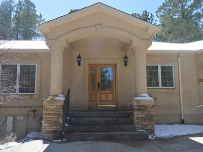 Photo for Modern Mountain Retreat - Ideal for Multiple Families - 15 Min from USAFA
