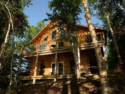 Photo for Wells' Watch Log Chalet And Retreat - OPEN YEAR-ROUND