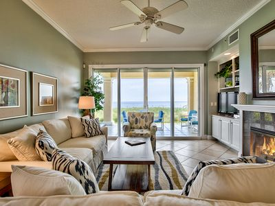 Photo for WOW Private oceanfront surf/sand. Home away from Home. 5 min.to St Aug. Dogs o