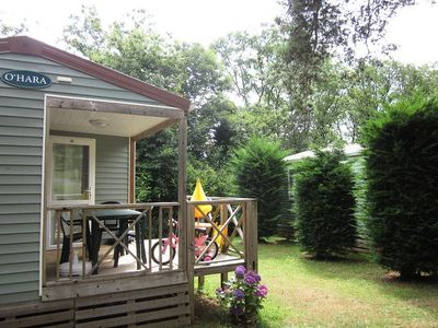 Photo for Camping Le Temps de Vivre *** - Mobile Home 3 Rooms 2 People
