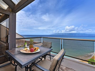 Photo for Best Location at Sands of Kahana! 3 br Penthouse condo with Direct Ocean Front