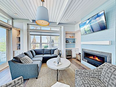 Photo for New Listing! Beachside Bungalow w/ Pool & Balcony - Short Walk to Shore