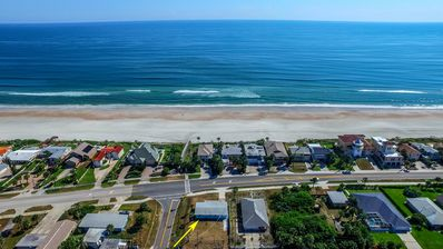 View of Home and Beach Walkover