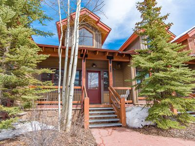 Photo for Placer Ridge Townhome Downtown Breckenridge Vacation Rental